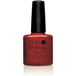 Shellac nail polish - BRICK...