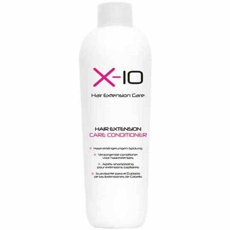 Drėkinantis Balzamas priaugintiems ir natūraliems plaukams X-10 Hair Extension Care Conditioner, 250ml