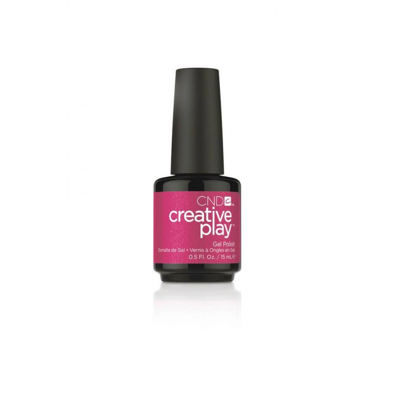CREATIVE PLAY GEL POLISH - CHERRY GLO-ROUND CND - 1