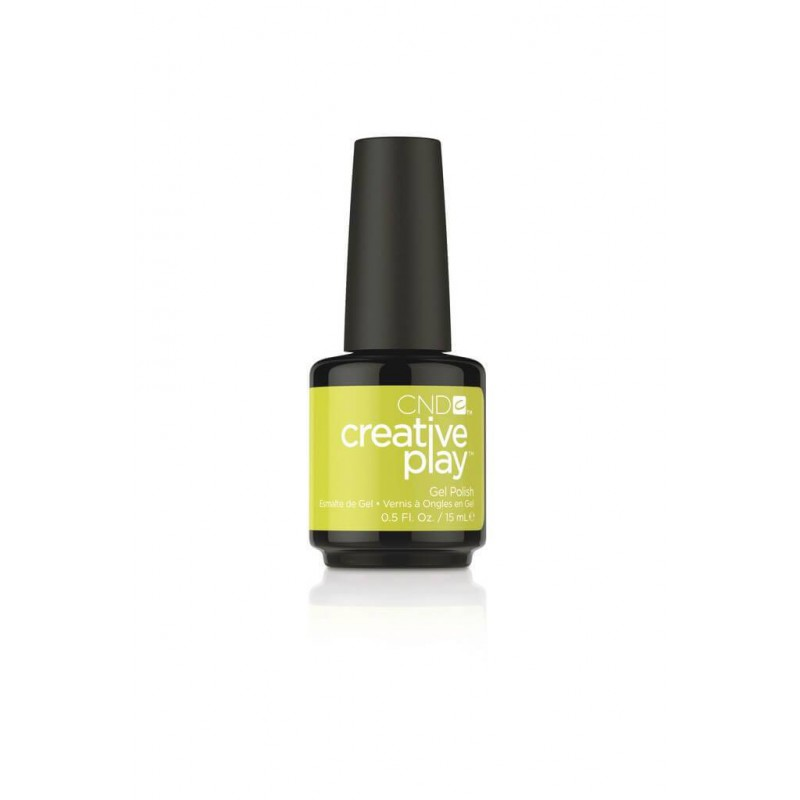 CREATIVE PLAY GEL POLISH - TOE THE LIME CND - 1