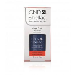 Shellac nail polish - PEACOCK PLUME CND - 1