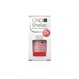 Shellac nail polish - PINK PURSUIT CND - 1