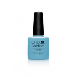 Shellac nail polish - AZURE...